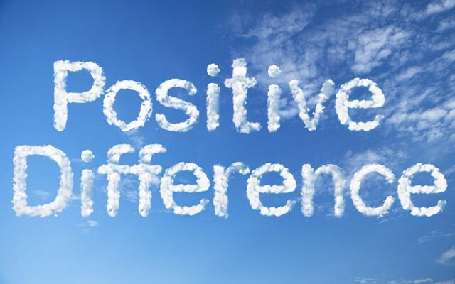 positive difference