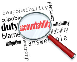 Accountability is the key top achieving your goals