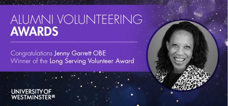 University of Westminster volunteer award