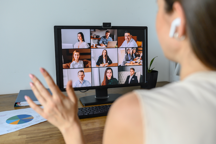 how to raise your visibility when working from home