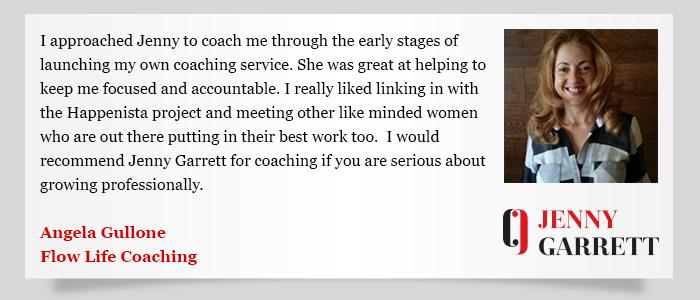 Jenny Garrett testimonial