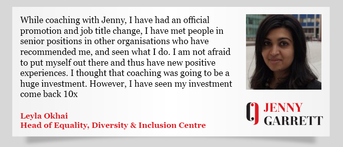 Jenny Garret Testimonial