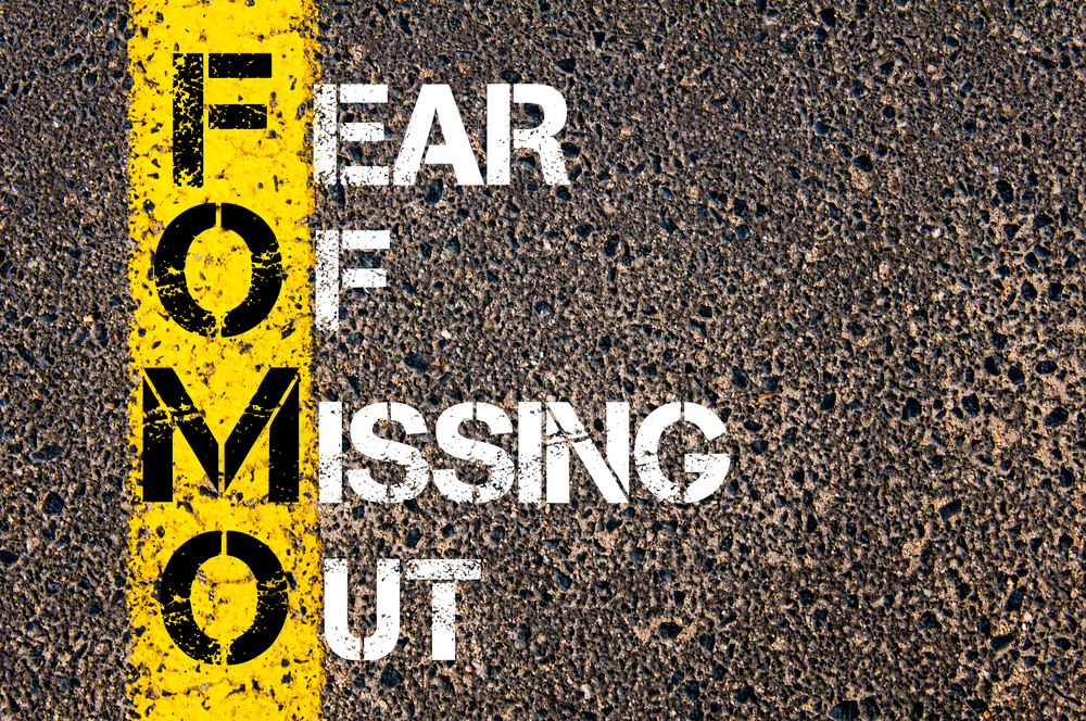 3 ways to cure yourself of (FOMO) Fear of Missing Out