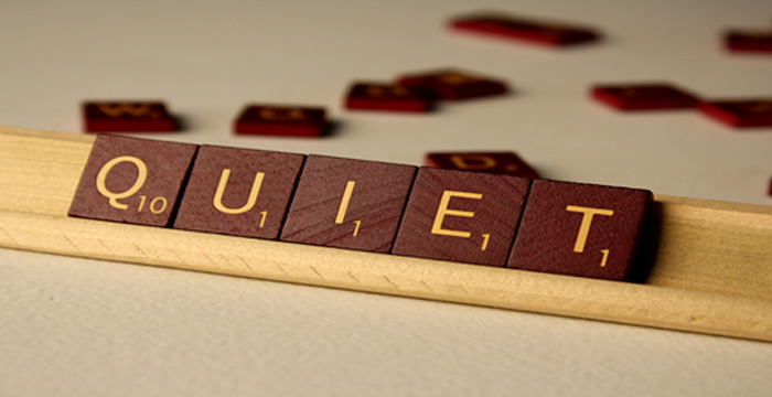 In Praise Of Quiet by Guest blogger, Author and Coach Jackee Holder