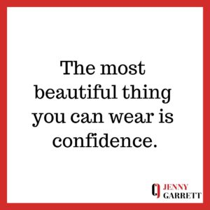 Developing Unshakeable Self-Confidence, events by Jenny Garrett