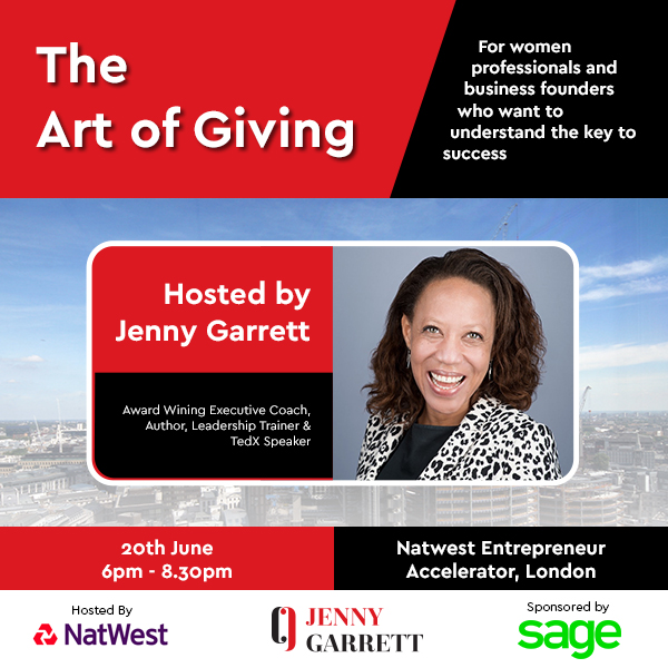 Learn the art of giving at Jenny Garrett's event